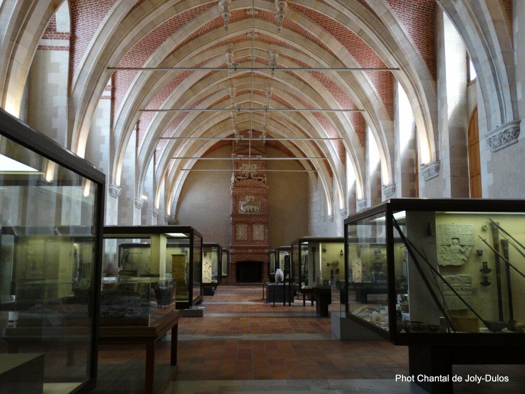 Vue des collections permanentes - Musée national d'archéologie, Saint Germain en Laye (25)