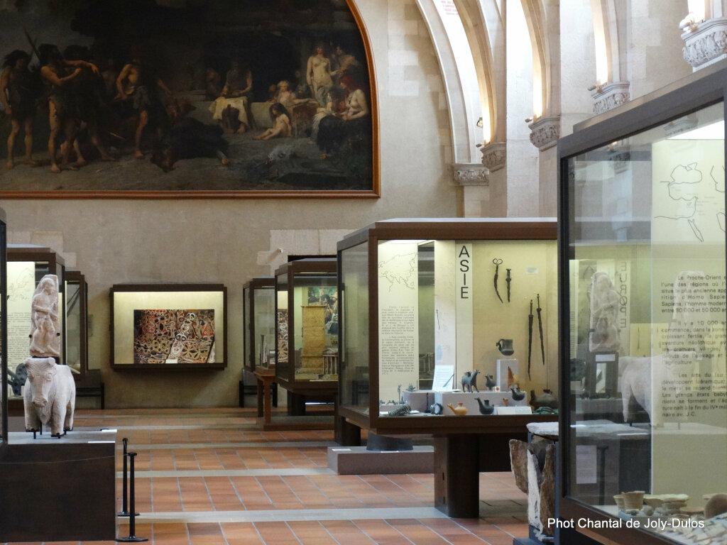 Vue des collections permanentes - Musée national d'archéologie, Saint Germain en Laye (26)
