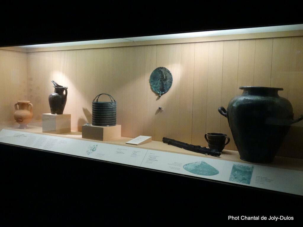 Vue des collections permanentes - Musée national d'archéologie, Saint Germain en Laye (28)
