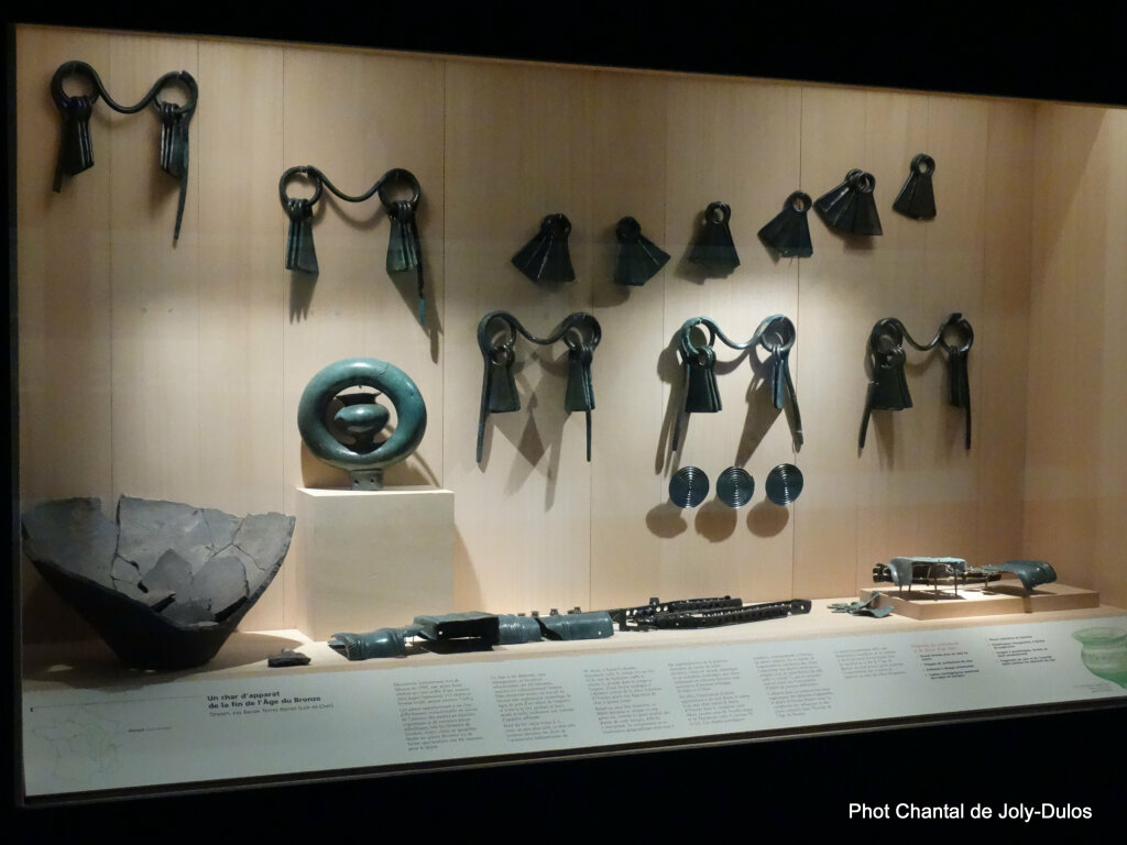 Vue des collections permanentes - Musée national d'archéologie, Saint Germain en Laye (29)