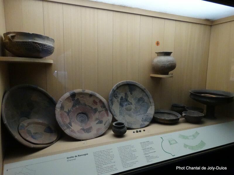 Vue des collections permanentes - Musée national d'archéologie, Saint Germain en Laye (31)
