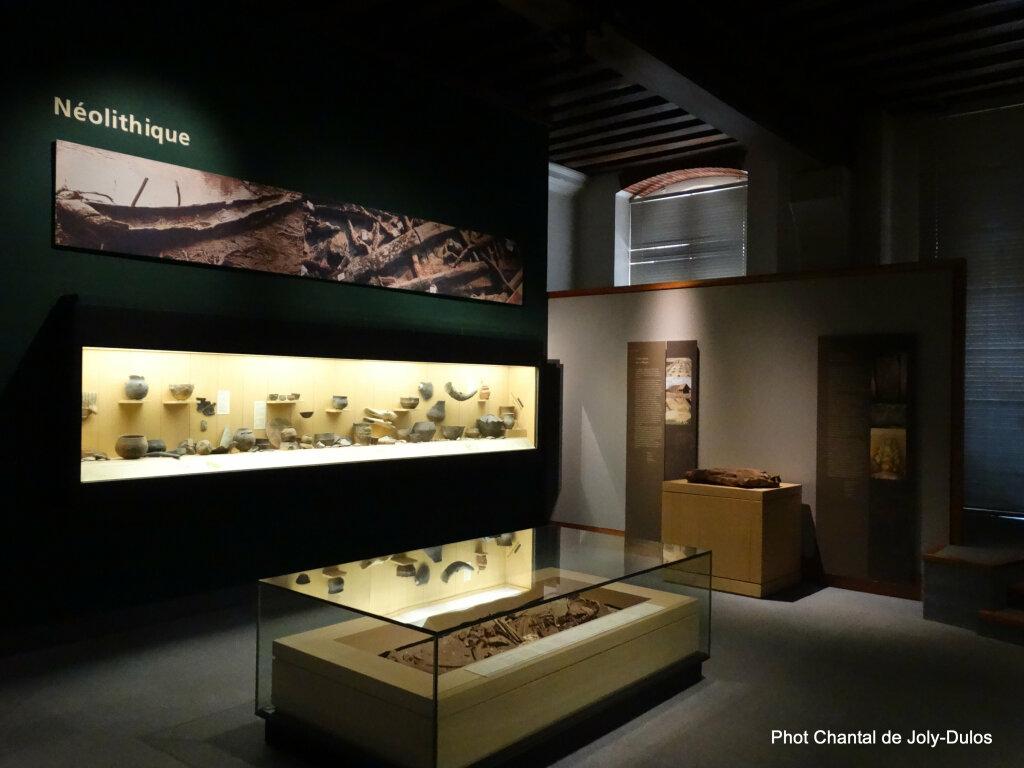 Vue des collections permanentes - Musée national d'archéologie, Saint Germain en Laye (34)