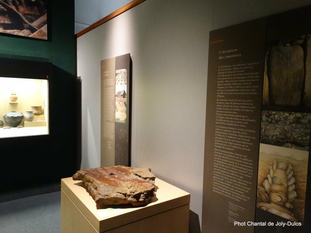 Vue des collections permanentes - Musée national d'archéologie, Saint Germain en Laye (36)