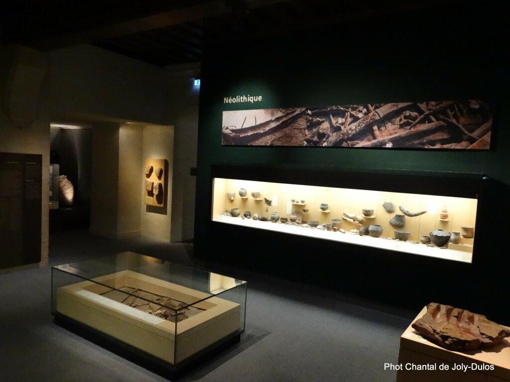 Vue des collections permanentes - Musée national d'archéologie, Saint Germain en Laye (37)