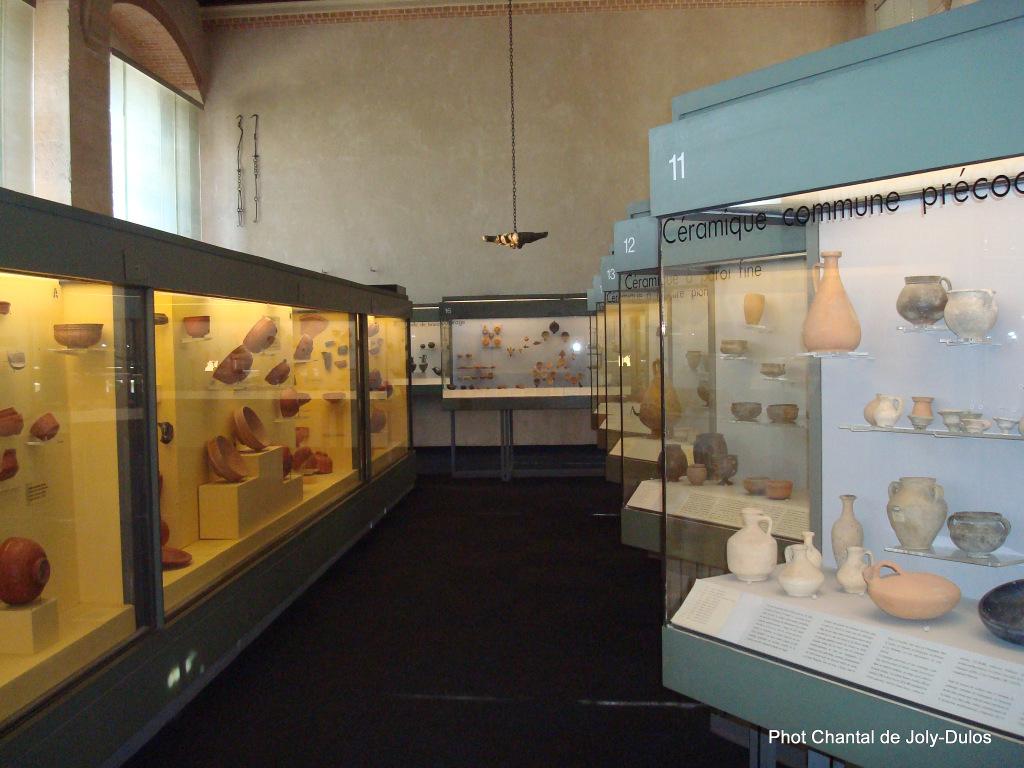 Vue des collections permanentes - Musée national d'archéologie, Saint Germain en Laye (41)