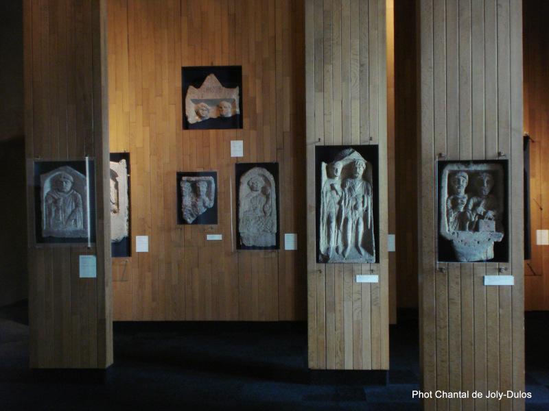 Vue des collections permanentes - Musée national d'archéologie, Saint Germain en Laye (42)