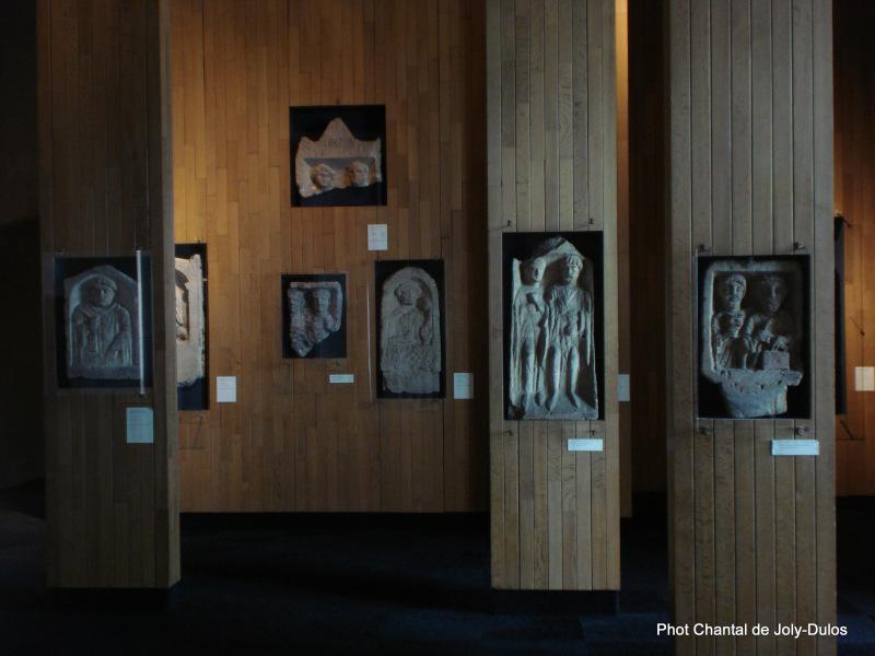 Vue des collections permanentes - Musée national d'archéologie, Saint Germain en Laye (43)