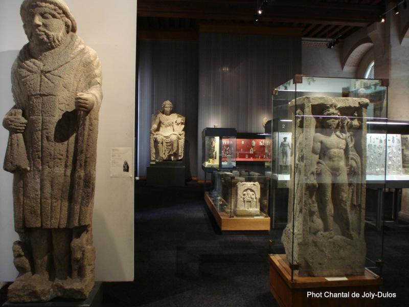 Vue des collections permanentes - Musée national d'archéologie, Saint Germain en Laye (45)