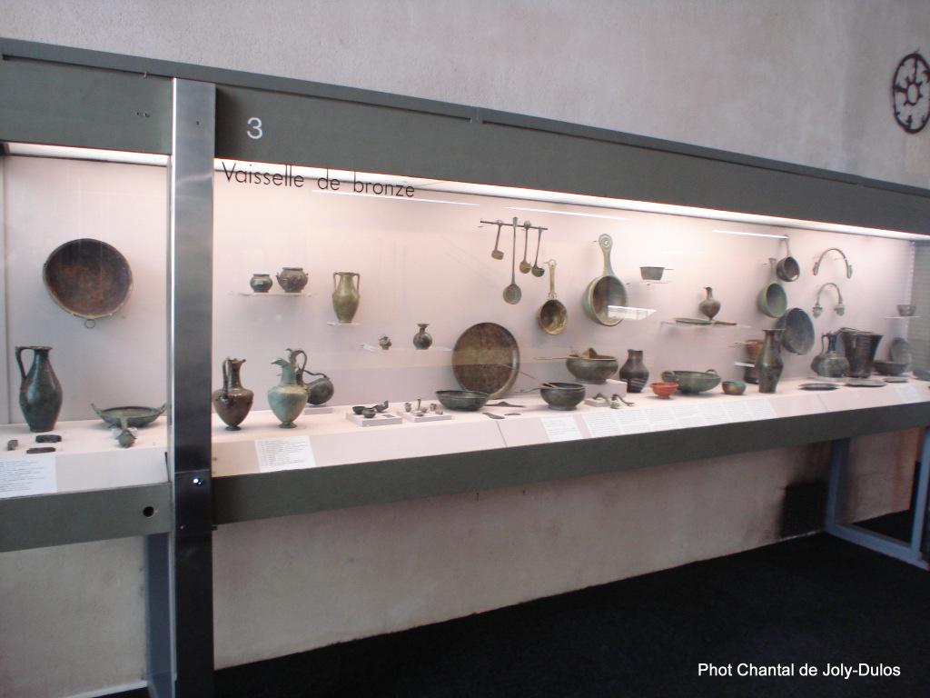 Vue des collections permanentes - Musée national d'archéologie, Saint Germain en Laye (48)