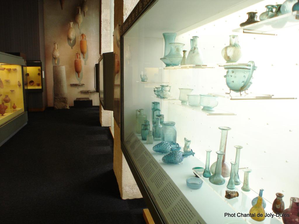 Vue des collections permanentes - Musée national d'archéologie, Saint Germain en Laye (50)