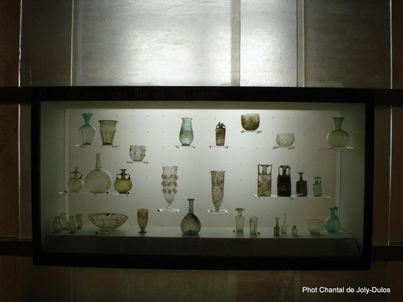 Vue des collections permanentes - Musée national d'archéologie, Saint Germain en Laye (51)