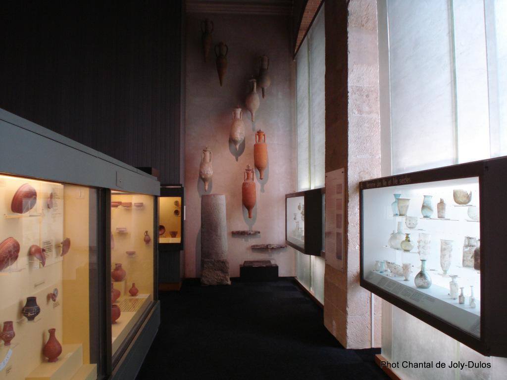Vue des collections permanentes - Musée national d'archéologie, Saint Germain en Laye (52)