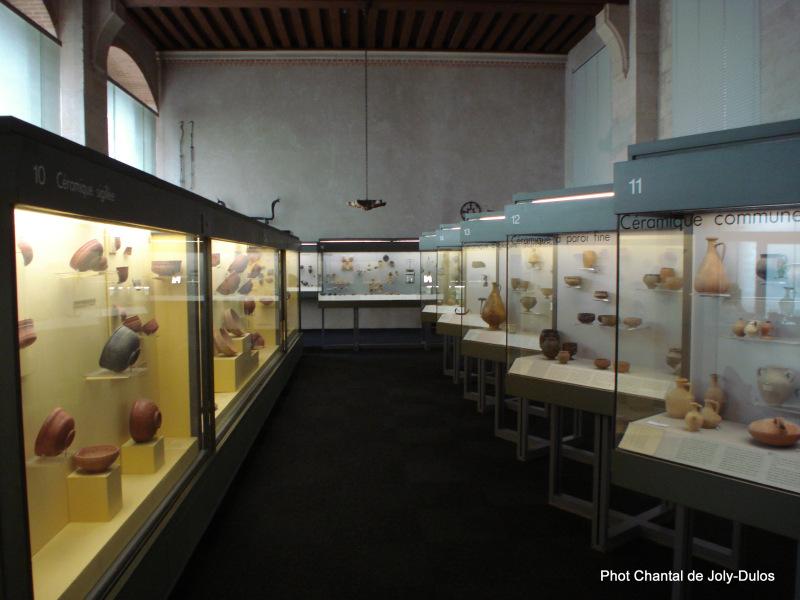 Vue des collections permanentes - Musée national d'archéologie, Saint Germain en Laye (53)