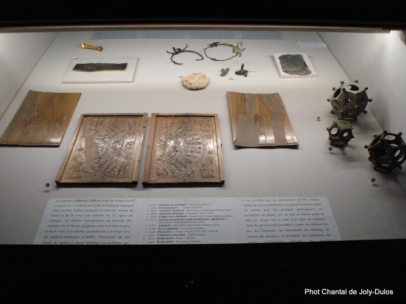 Vue des collections permanentes - Musée national d'archéologie, Saint Germain en Laye (54)