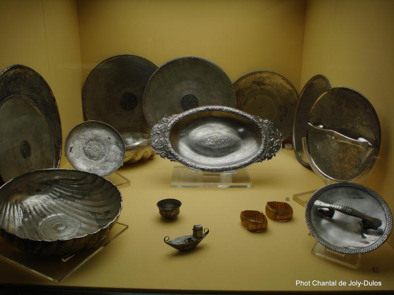 Vue des collections permanentes - Musée national d'archéologie, Saint Germain en Laye (55)