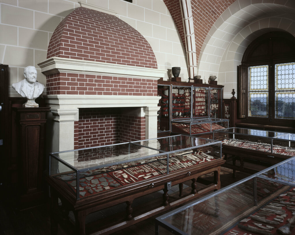 Vue des collections permanentes - Musée national d'archéologie, Saint Germain en Laye (57)