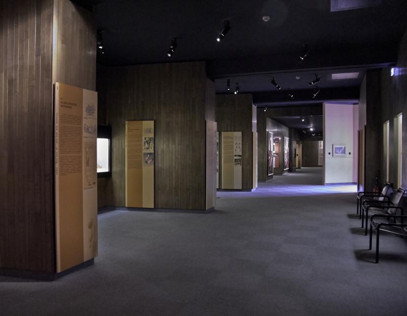Vue des collections permanentes - Musée national d'archéologie, Saint Germain en Laye (8)