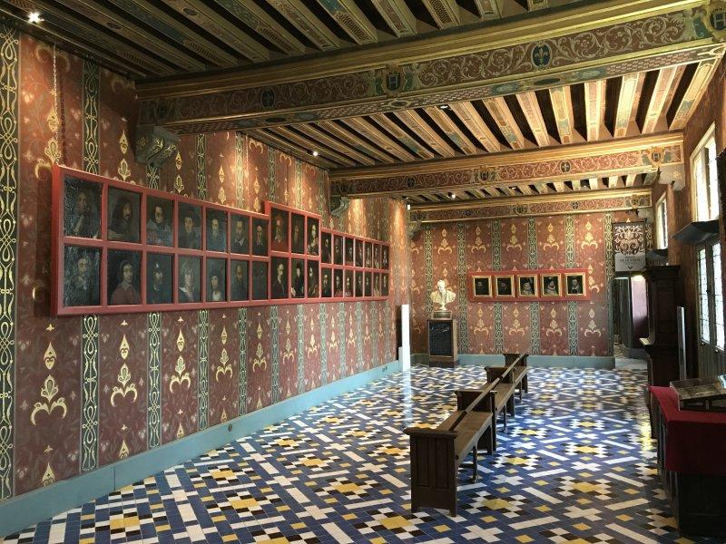 Vue du Château Royal de Blois