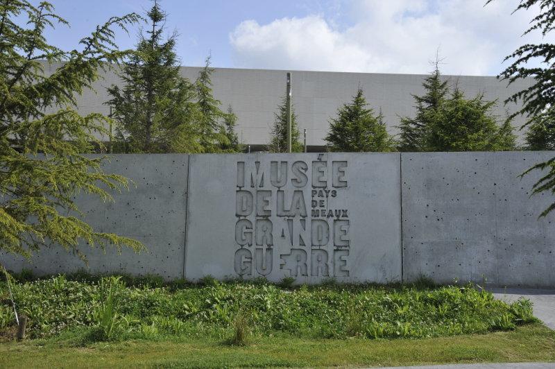 Vue du Musée de la Grande Guerre, Meaux