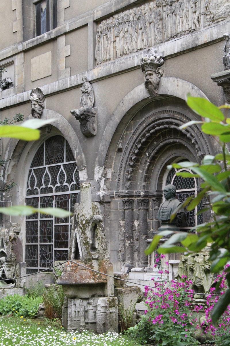 Vue du Musée des Antiquités - Rouen