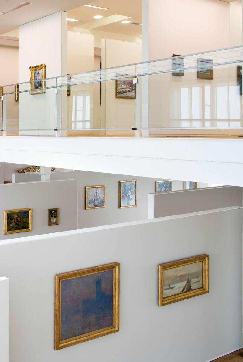 Vue intérieure, collection permanente © MuMa Le Havre Florian Kleinefenn