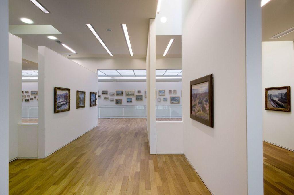 Vue intérieure, espace de la collection Senn