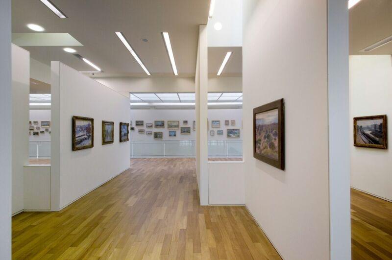 Vue intérieure, espace de la collection Senn © MuMa Le Havre Florian Kleinefenn
