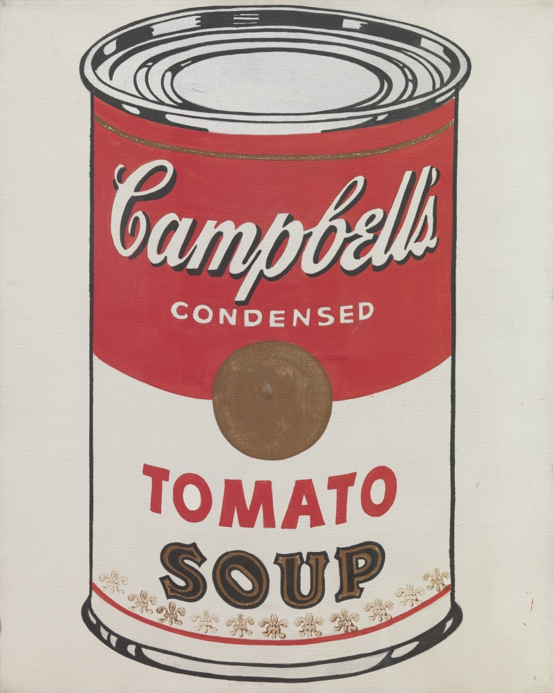 Campbell's soup can - Andy Warhol