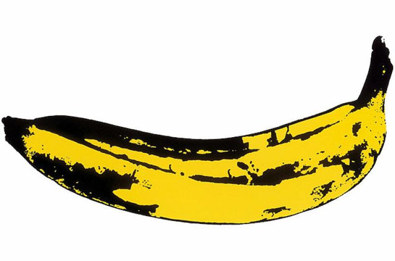 La banane - Andy Warhol