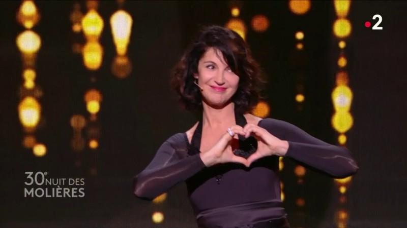 Zabou Breitman, maîtresse de cérémonie des Molières 2018