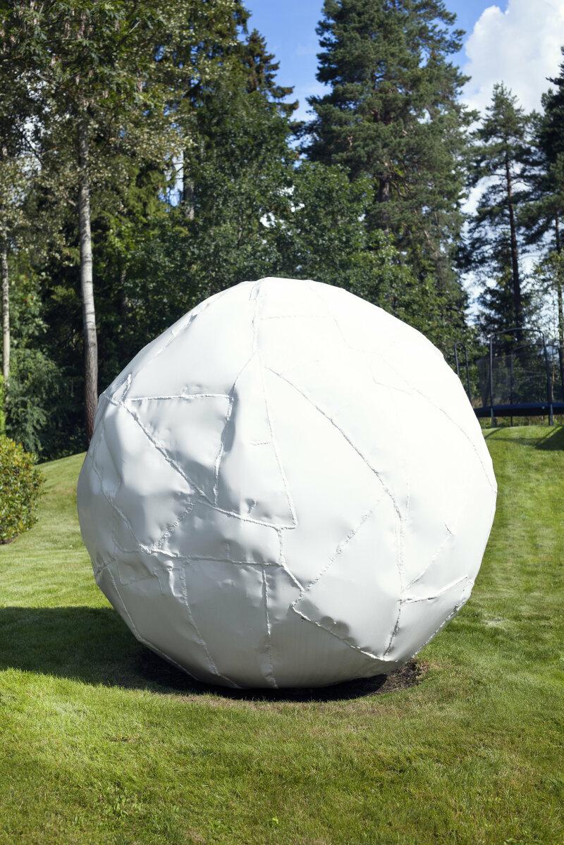 Franz West (1947-2012)Kugel2005Painted welded aluminumAverage diameter 180 cmUnique