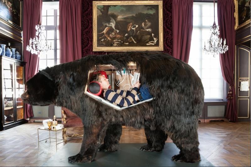 Abraham Poincheval - L'Homme-Lion