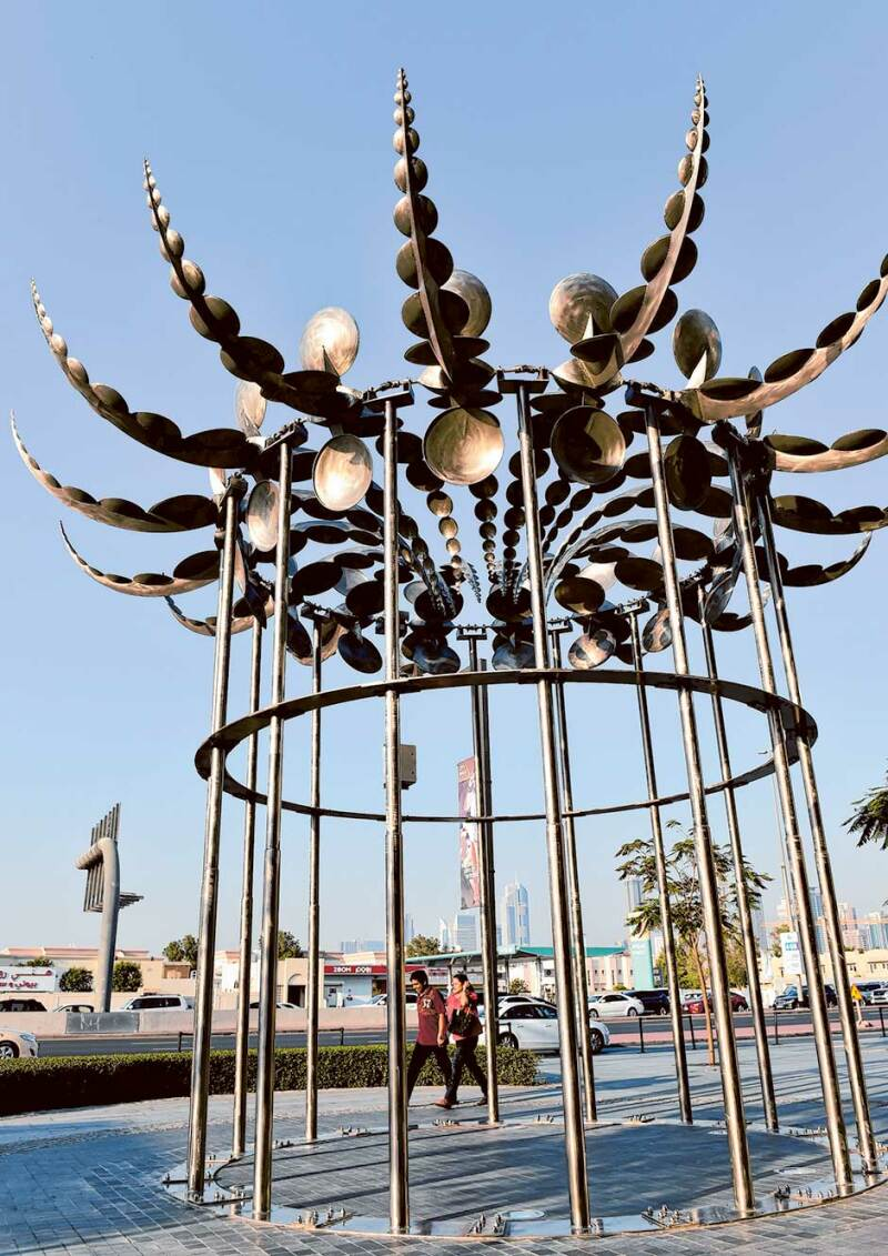 Les sculptures cinétiques d'Anthony Howe