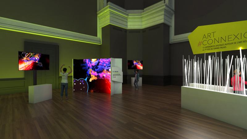 Art # Connexion - Grand Palais