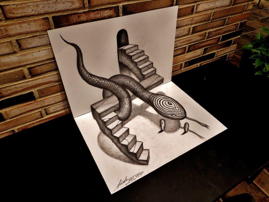 Art drawing 3D