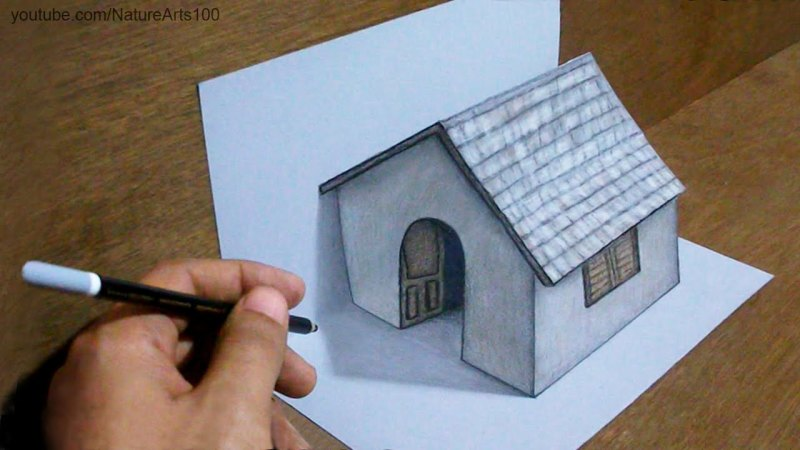Art drawing 3D