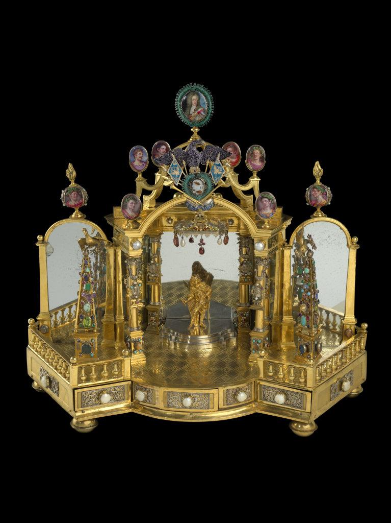Monument miniature commémorant le couronnement de l'Empereur Charles VI en 1711, Vienne, 1711-1713