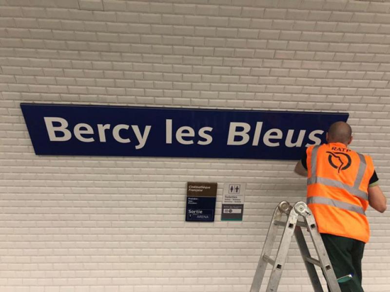 Bercy Les Bleus