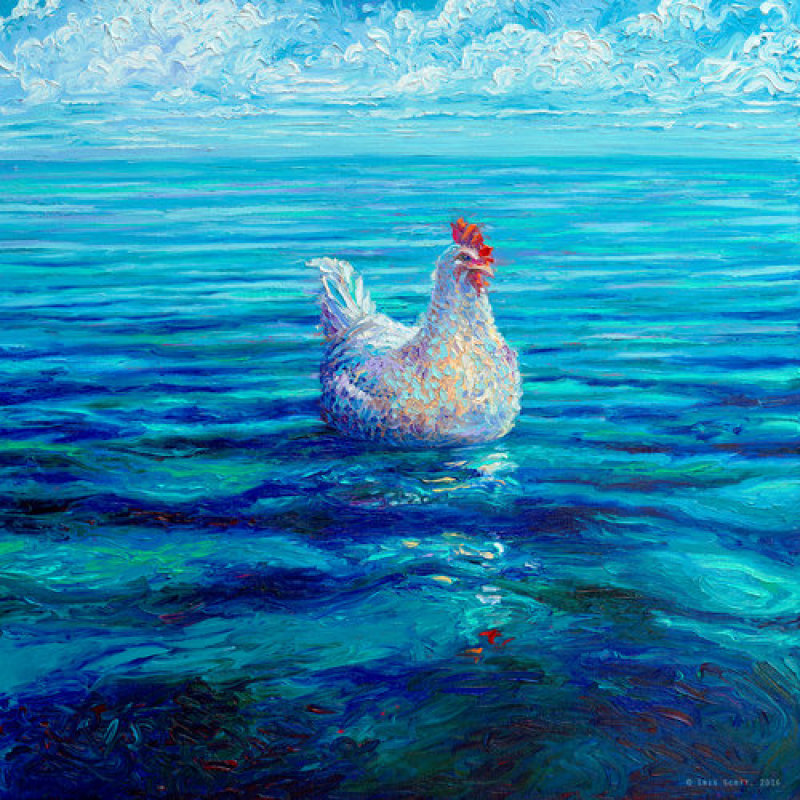 Chicken on the sea - Iris Scott