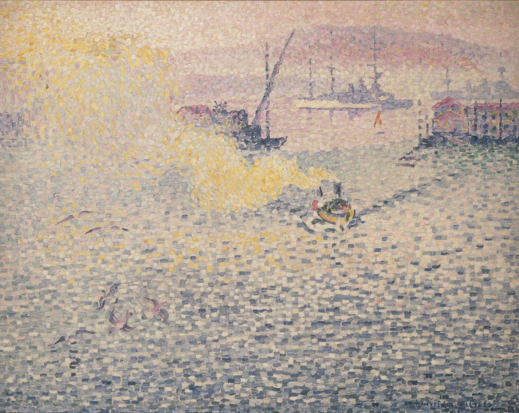 Toulon matinée d'hiver