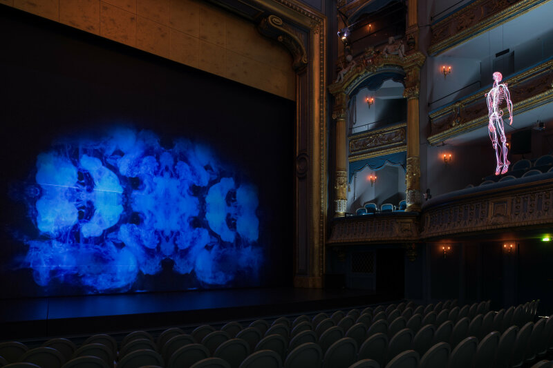 Daniel Firman, Inside, Théâtre Graslin, création 2018 pour Le Voyage à Nantes