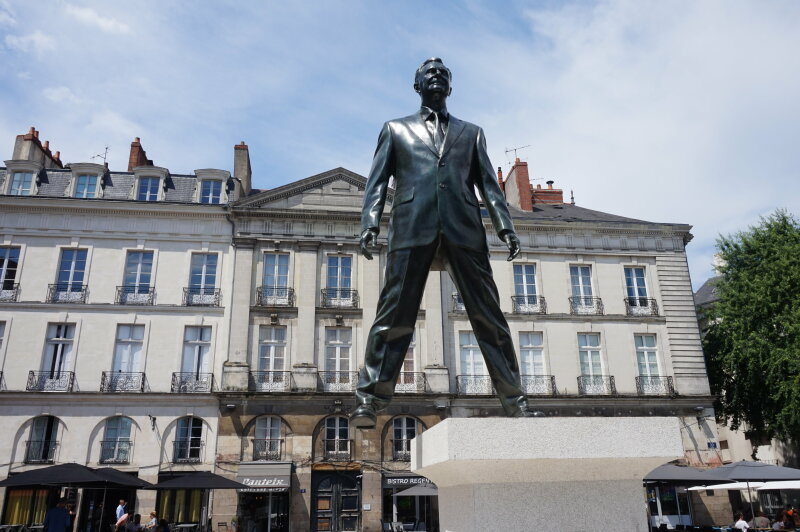 Eloge du pas de coté de Philippe Ramette (3)