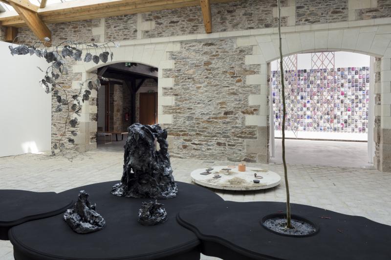 Evor, Particules, Exposition collective, le Voyage à Nantes 2018
