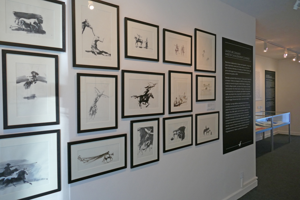 Vue de l'exposition Habiter poétiquement le monde, Musée Mandet