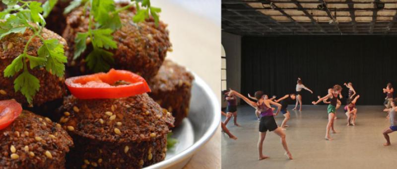 La cuisine et la danse de Tel-Aviv