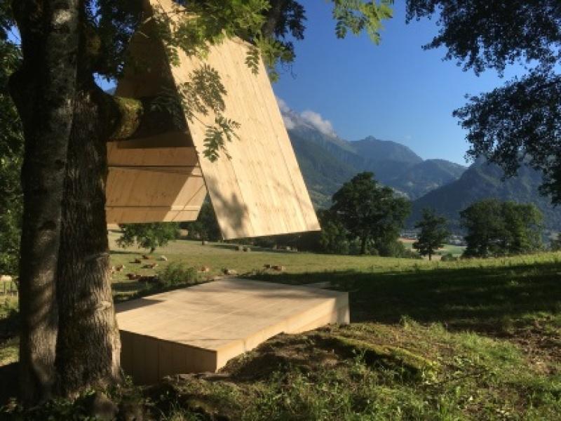 Festival des cabanes - Cabane Le Verdet