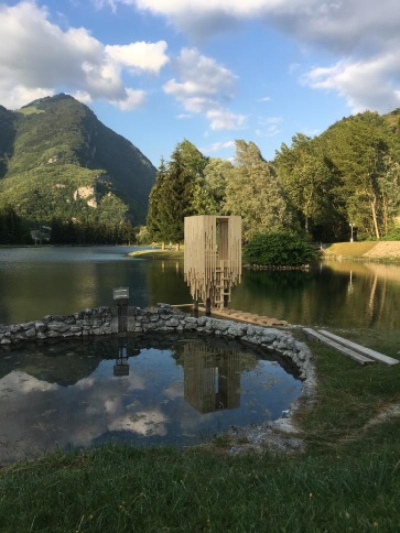 Festival des cabanes - Cabane Plan d'eau de Marlens