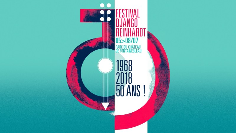Affiche du Festival Django Reinhardt