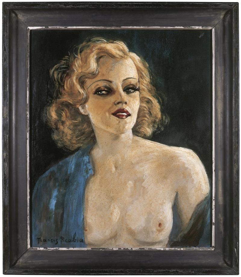 132 Francis Picabia La Main mystérieuse, vers 1938-1942 Huile sur panneau double face, 65 x 54 cm Musée d'art moderne et contemporain, Strasbourg © ADAGP, Paris 2018