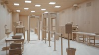 Hall aerogare - Roxy Paine